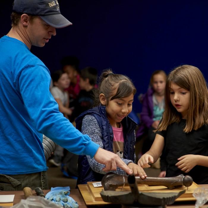 Children at La Brea Tar Pits Youth Programs