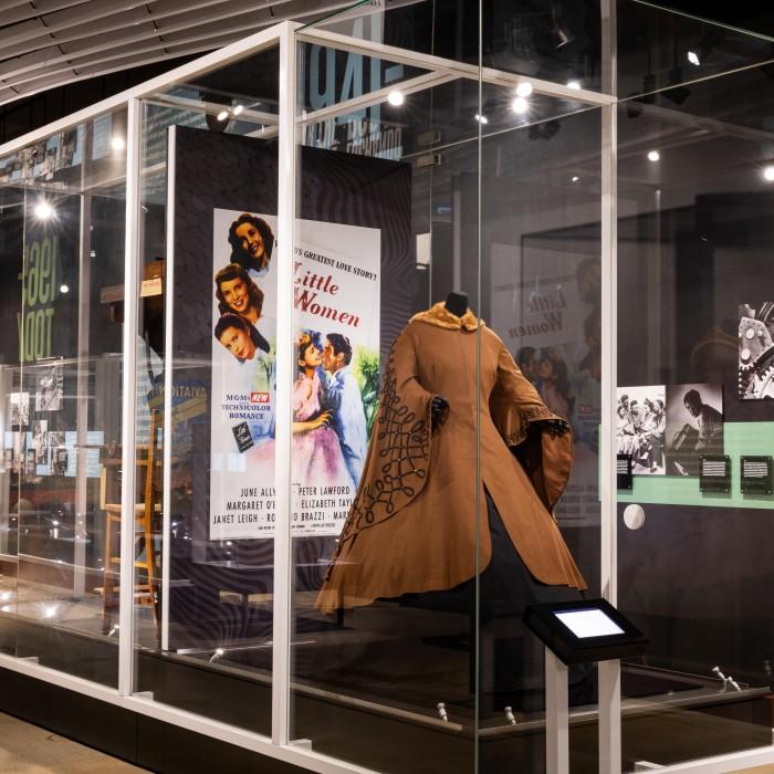 Little Women cape on display in BLA