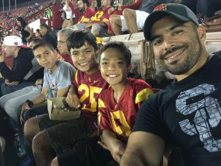 USC, Trojans, Family